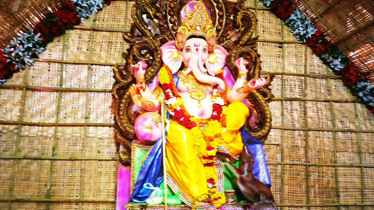 Ganpati Decoration Ideas For Home Outdoor Ganpati Decoration