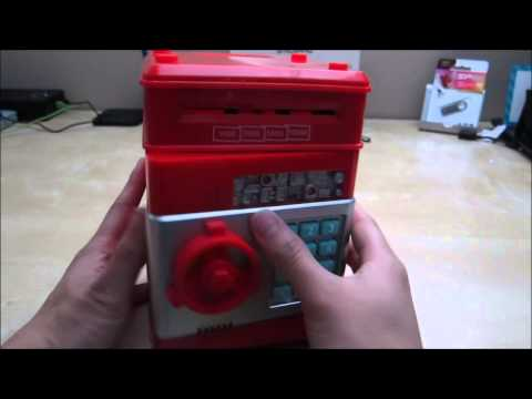 Vandesail Money Safe ATM Bank Novelty Toy Review