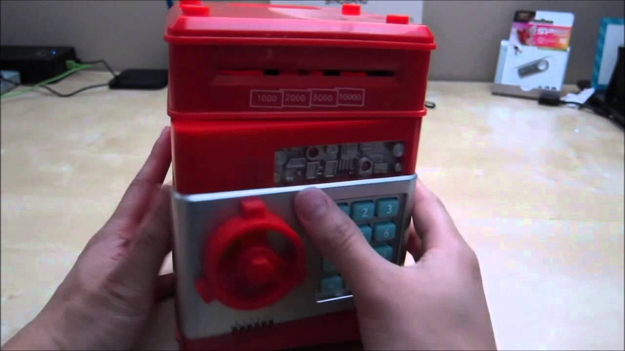 c951bcbed209 Vandesail Money Safe ATM Bank Novelty Toy Review