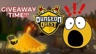Let's play Roblox! Dungeon Quest! GIVEAWAYS AND GRIND PT3! LEGGO!