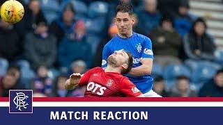REACTION | Nikola Katic | Rangers 1-1 Kilmarnock