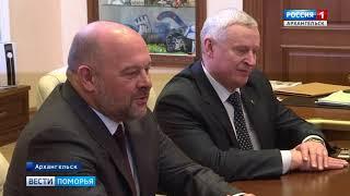 Космонавт Анатолий Иванишин прибыл сегодня в Архангельск