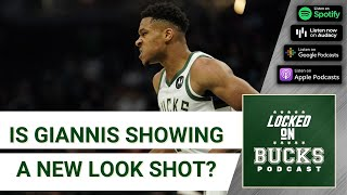 Bucks fall to Jazz as Giannis unleashes jump shot package and perhaps a new free-throw routine?