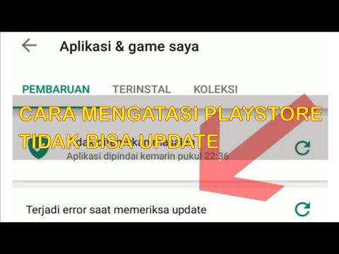 Cara Mengatasi Playstore Tidak Bisa Update Aplikasi 2020
