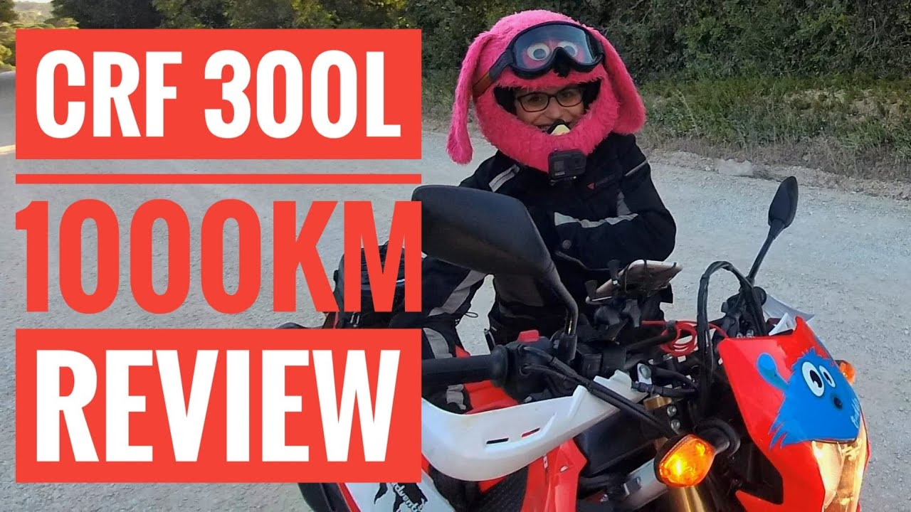Download CRF 300L - 1000km review