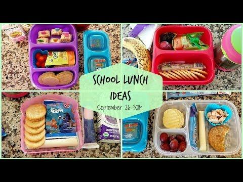 School Lunch Ideas! Back To School Ep.6