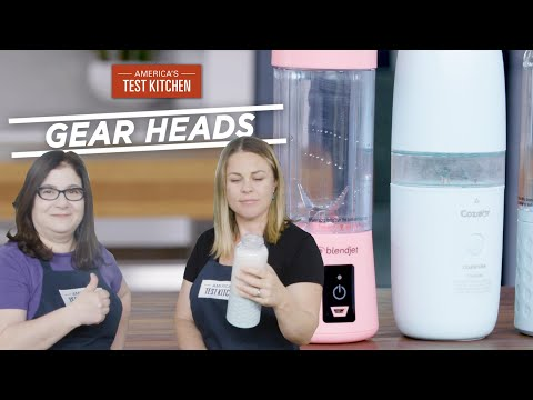 Gear Heads | Make Smoothies and Margaritas Anywhere with Portable Blenders
