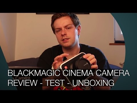 Blackmagic Cinema Camera Review - Test - Unboxing - DEUTSCH