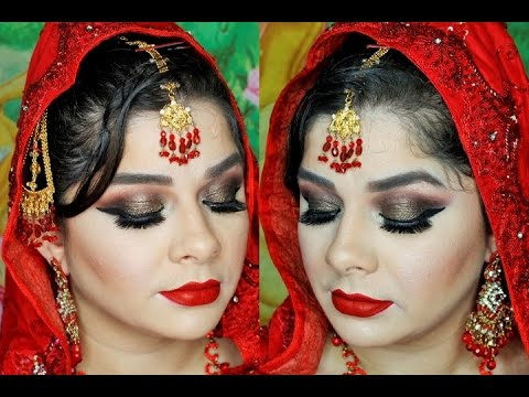 ASIAN BRIDAL MAKEUP TUTORIAL 2016