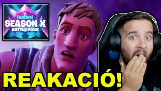 FORTNITE SEASON X BATTLE PASS FIRST REACTION! 😱 | NEW SEASON-A LOT OF NOVELTIES!