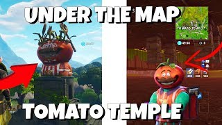 Fortnite Glitches: *Bajo el mapa TOMATO TEMPLE* Parche 5.30 Fortnite Battle Royale Godmode Glitch!