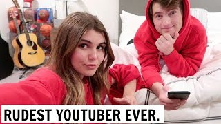 THE RUDEST YOUTUBER IVE EVER MET l Olivia Jade