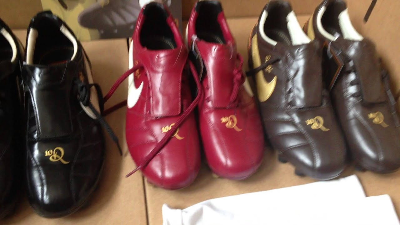 Nike Tiempo Ronaldinho Collection Soccer Cleats R10's