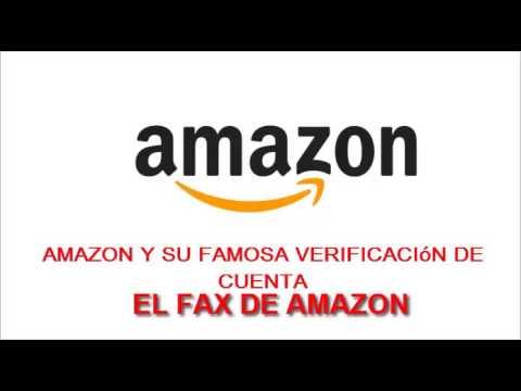 Amazon te pide un fax para verificar tu cuenta