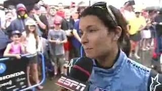Danica Patrick talks about Milka Duno incident.
