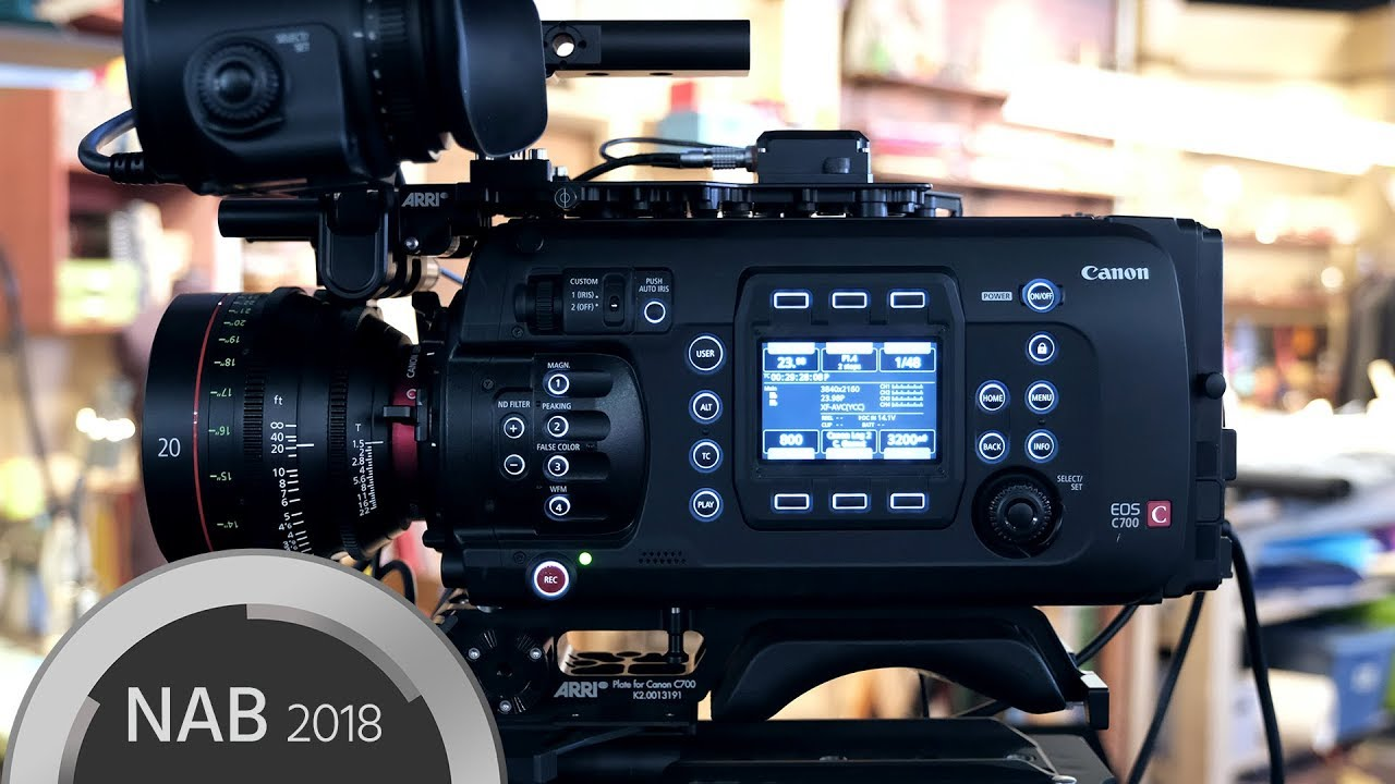 Hands on With Canon C700 Full Frame and 20mm T1.5 - YouTube