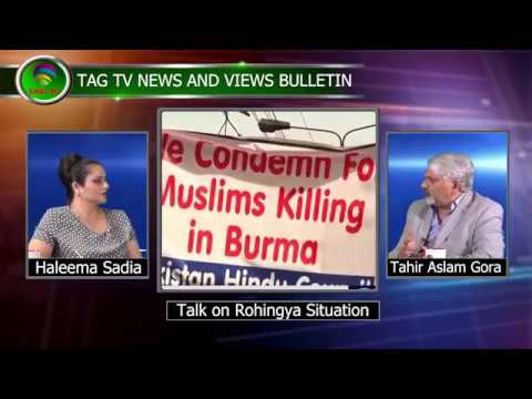 Would India China help resolve Rohingya Crises? - TAG TV News & Views Special Bulletin