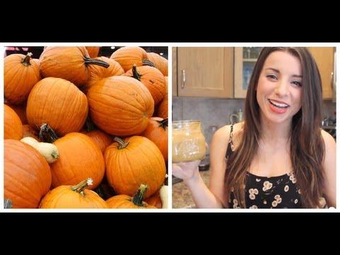 Healthy Pumpkin Pie Smoothie Recipe   Fall Recipes  Vegan
