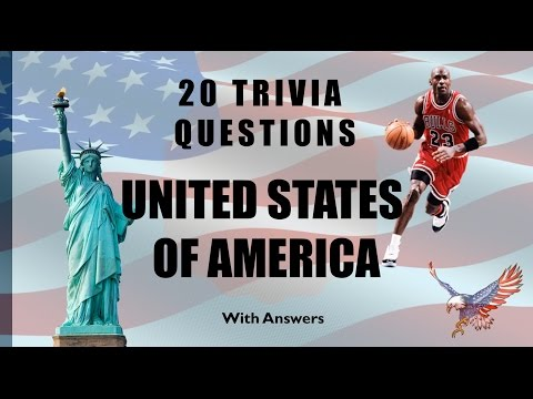 20 Trivia Questions (United States Of America) No. 1