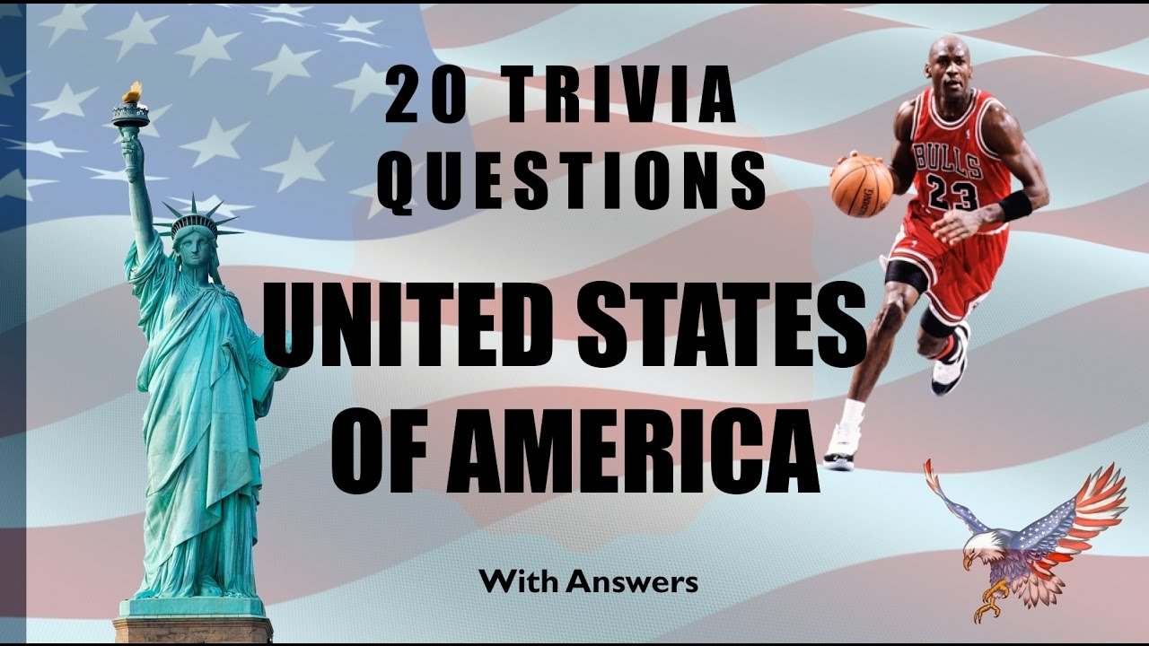 Trivia Questions United States Of America No YouTube - United states trivia