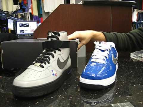 brand new cfe66 5c89c Nike Air Force 1 All Star 2010 East & Nike Air Force 1 High Premium LE at  Street Gear Hempstead NY