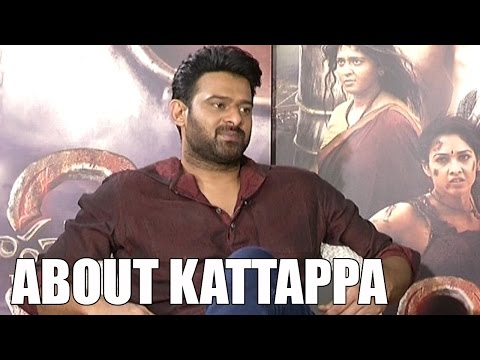 Prabhas About Kattappa Character In Baahubali   Anushka   Rana   S S Rajamouli   iNews