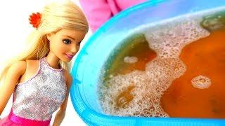 Бомбочка для ванны - мастер класс с Барби