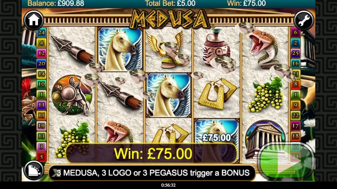 Medusa Slot Machine