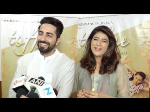 Ayushmann Khurrana's First Ever Interview With Wife Tahira Kashyap For Toffee