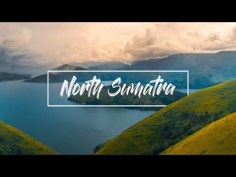 (4K) North Sumatra DRONE FOOTAGE - AROUND NORTH SUMATRA