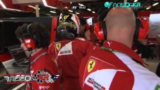 Kimi Räikkönen angry to Ferrari engineers / Australia practice 3 2014 [HD]