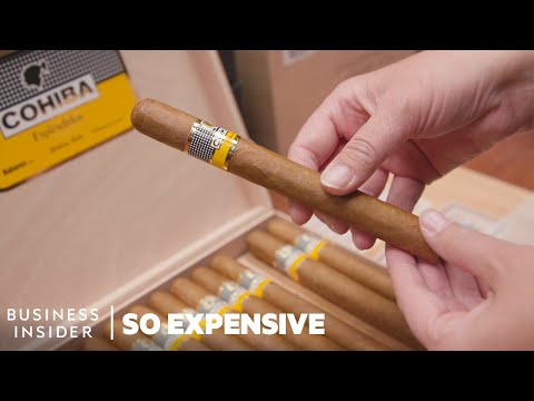 Why Cuban Cigars Are So Expensive   So Expensive