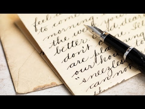 ¿Quién Inventó La Letra Cursiva?