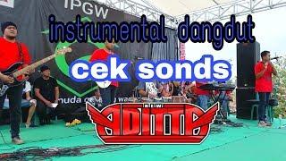 Instrument dangdut cek sonds