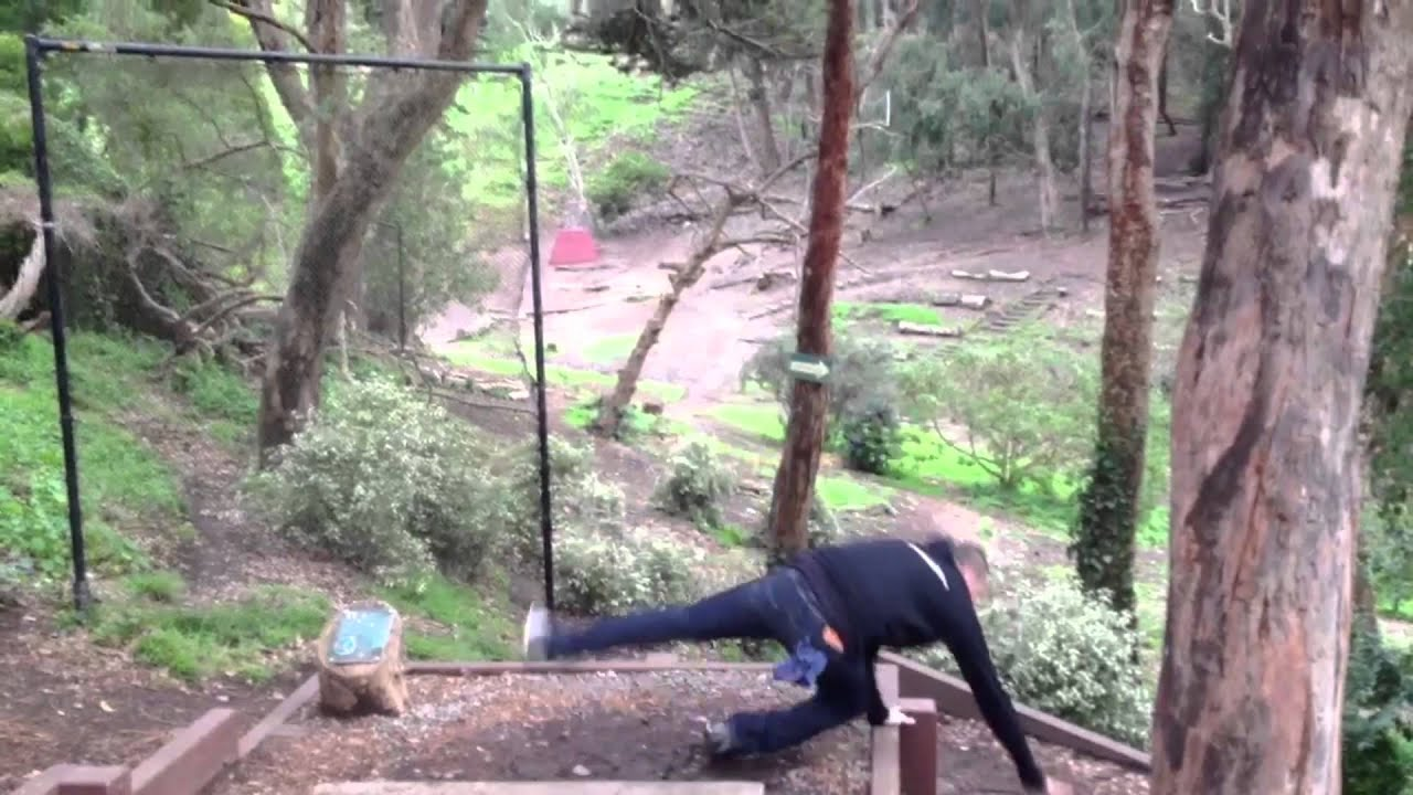 epic disc golf fail youtube
