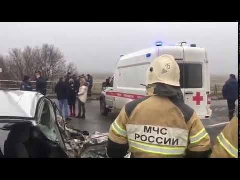 В Багаевском районе столкнулись легковушка и школьный автобус 28.11.2019
