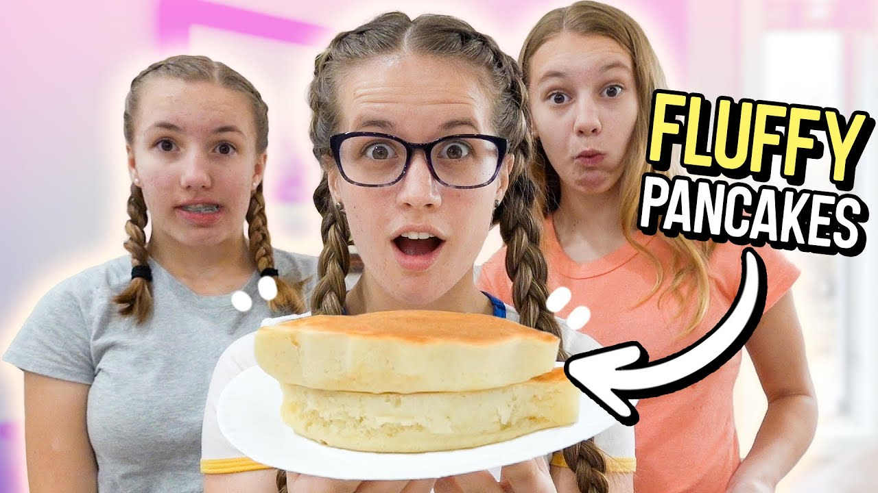 MAKING GIANT FLUFFY PANCAKES // Did They Work?