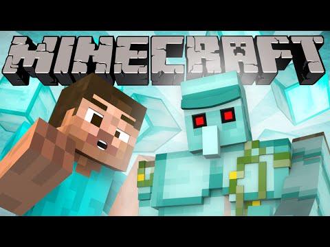 If Diamond Golems Were In Minecraft