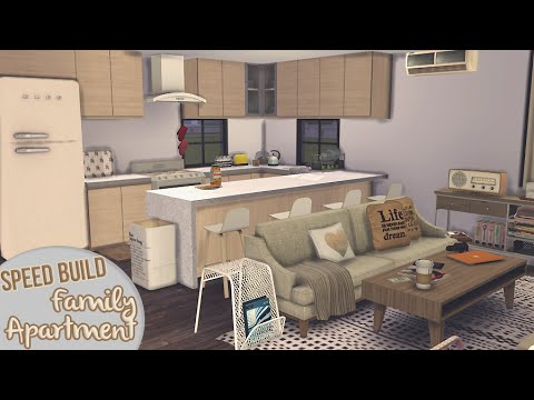 Small Family Apartment Apartment Building 1 The Sims