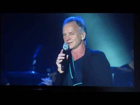 Sting - Englishman In New York @ Kraków, 2.11.2019