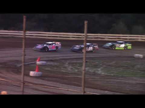 Hummingbird Speedway (9-1-18): BWP Bats Late Model Heat Race #1