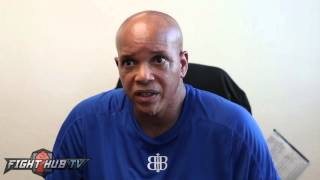 Virgil Hunter if GGG a tougher fight than Canelo