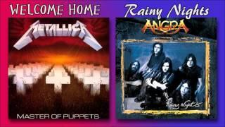 Angra & Metallica - Welcome Home, Rainy Nights (Mashup)