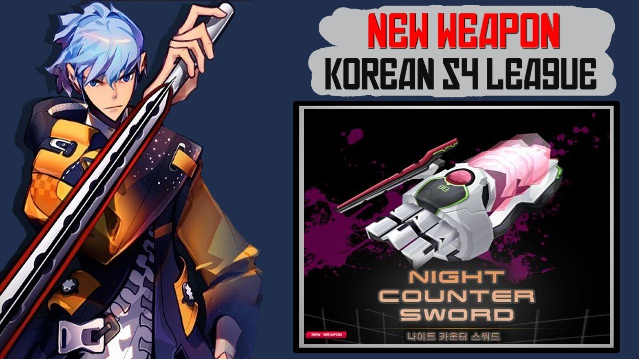 Korean s4 league news new map alice house and new night counter sword new cs fp hd