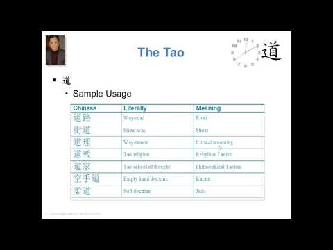 A Brief Intro to the Tao