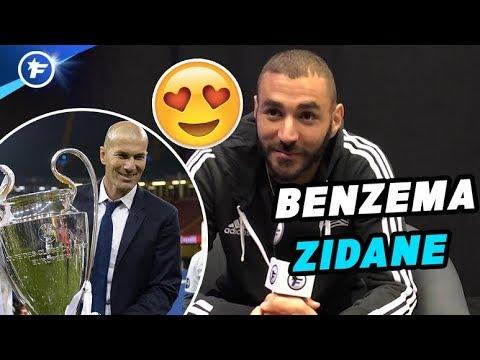 Karim Benzema : « Zidane ? Ce n'est plus de la chance au bout d'un moment »