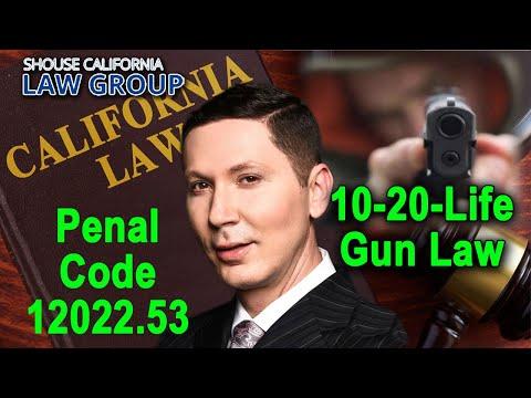"California's ""10-20-Life"" Sentencing Enhancement for Gun Use"