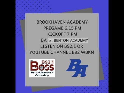 Brookhaven Academy VS Benton Academy - 10/05/18