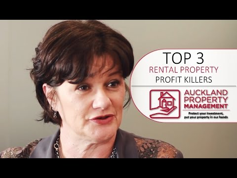 Top 3 Profit Killers for Rental Property Landlords by Auckland Property Management