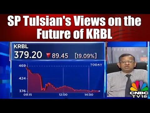 SP Tulsian's Views on the Future of KRBL | CNBC TV18